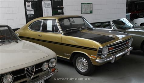 1968 Opel Kadett by Opel 1968 Kadett B Coupe 1900 Rallye Us Specs The