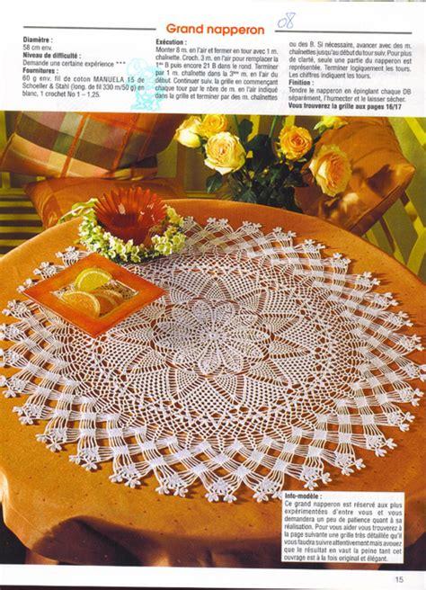 centro tavolo all uncinetto grande bel centro tavolo all uncinetto uncinetto passione