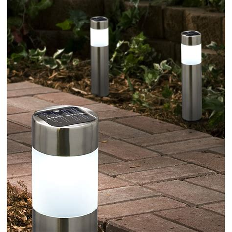 Solar Bollard Lights Outdoor Westinghouse 174 Nashville Bollard Solar Lights 153182