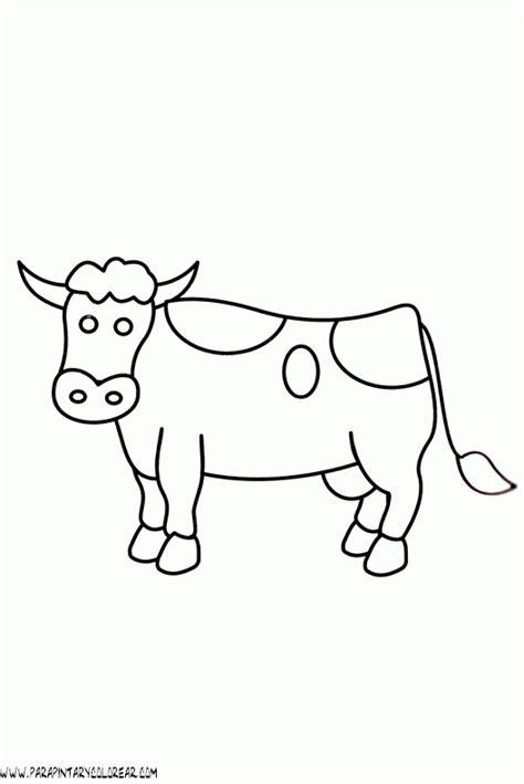 imagenes para colorear vaca dibujos de vacas imagui