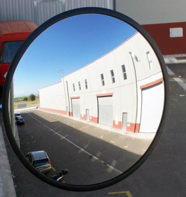 imagenes virtuales en espejos convexos espejos convexos de seguridad y vigilancia logismarket es