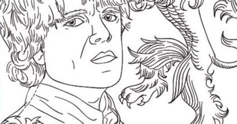 thrones coloring pages for adults tyrion of thrones coloring page coloring pages for