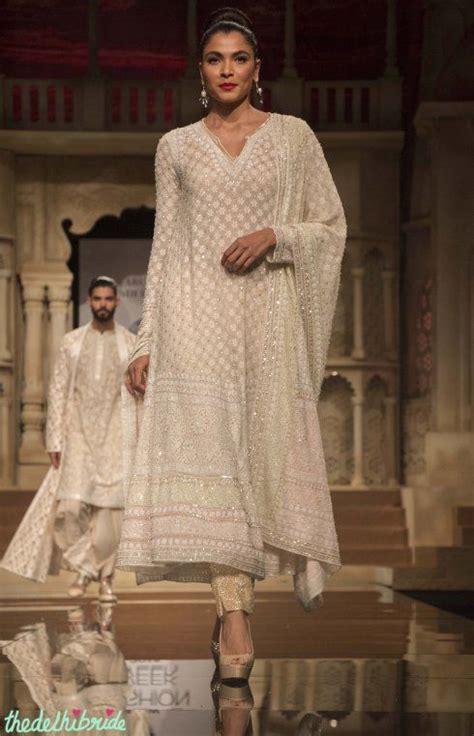 Dress Ivory Abu pretty ivory suit details abu jani sandeep khosla