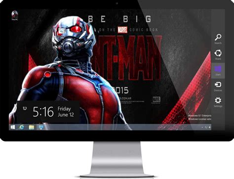 marvel themes for windows 8 1 ant man theme windows 7 and 10 theme
