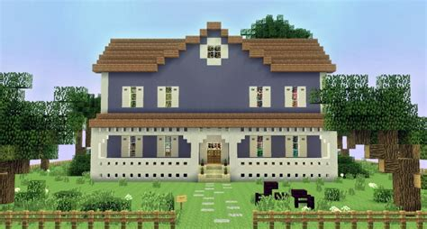big blue house bear in the big blue house bear s residence minecraft project