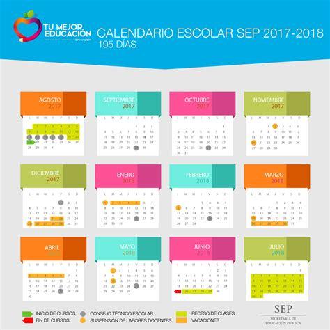 calendario escolar argentina 2017 2018 calendario oficial sep 2017 2018 educaci 243 n y cultura az