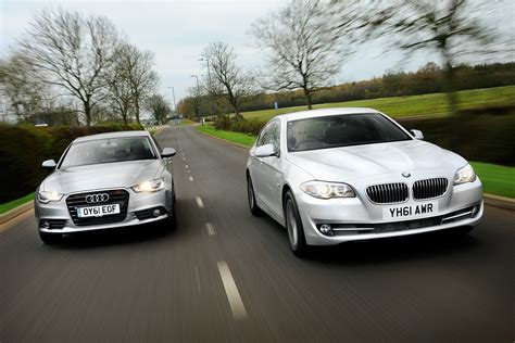 Audi A6 Vs Bmw 5 by Bmw 5 Series Vs Audi A6 Pictures Auto Express