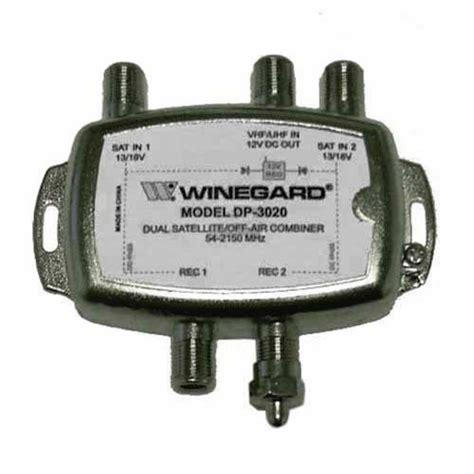winegard dp  diplexer dual satellite tv antenna