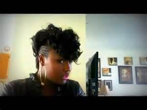 keyshia cole mohawk hairstyles the keyshia dior style youtube