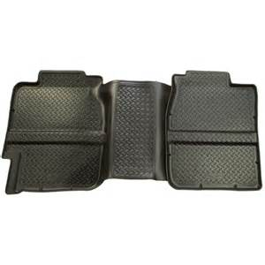 61361 husky liners black 2nd row floor mats silverado