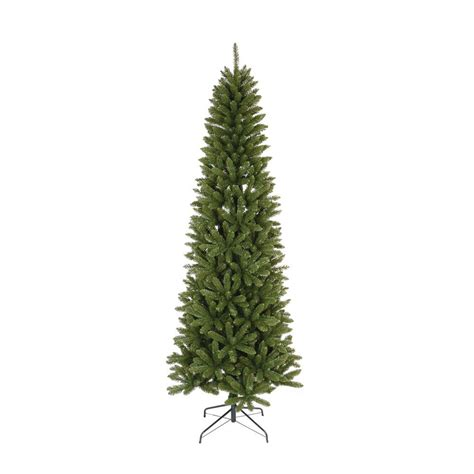 7 5 ft unlit slim artificial christmas tree with 936 tips