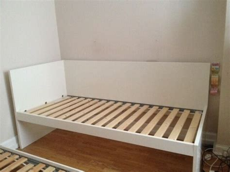 Ikea Pull Out Bed by Ikea Flaxa Childrens Single Bed With Pull Out Underbed