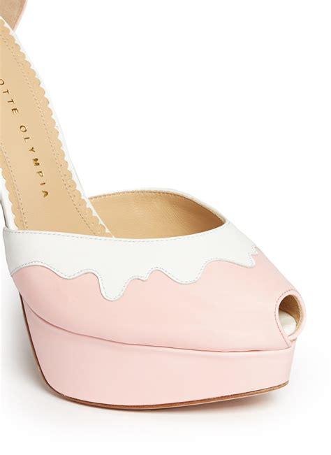 Olympia Platfrom High Heels olympia peep toe platform pumps multi colour platform high heels