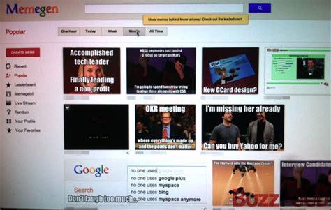google employees    internal meme generator