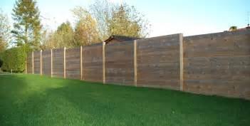 palissade bois atouts et prix d une palissade en bois