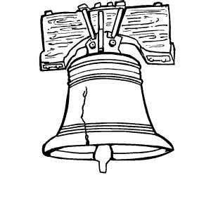 Liberty Bell Coloring Page Printable by Liberty Bell Coloring Page