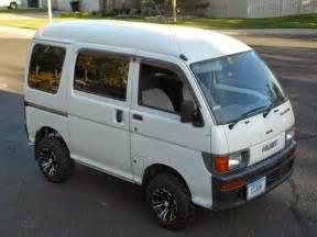 Daihatsu Hijet 4x4 1998 Daihatsu Hijet 4x4 Micro Auto Restorationice