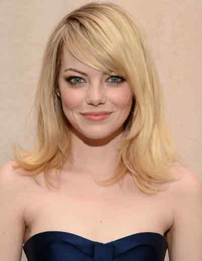 show side fring on long hair for older woman medium length hairstyles for older women latest images