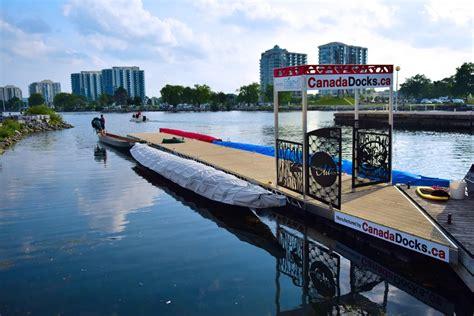 dragon boat dock canadadocks at the barrie dragon boat festival