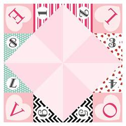 Free Cootie Catcher Template Gallery For Gt Valentine Cootie Catcher Template
