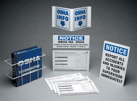 Osha Records Osha Record Keeping Center 1staidsupplies