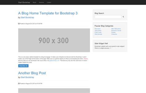 blog templates for bootstrap start bootstrap free bootstrap blog templates and themes