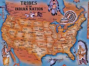 indian tribes of map reaching the nations