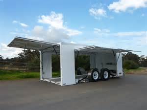 Curtain Side Trailers Enclosed Car Trailer Nevco Engineering