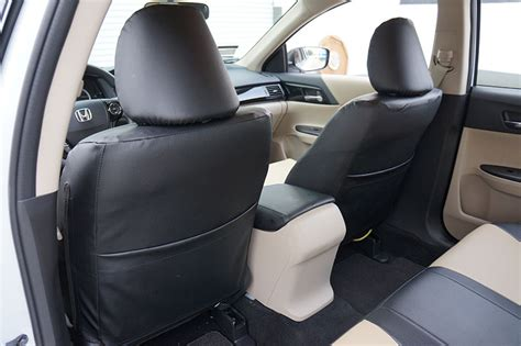 honda accord seat covers 2016 honda accord 2013 2016 black s leather custom made fit