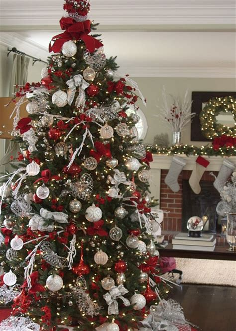tree pick christmas pinterest trees and action balsam hill s red white and sparkle