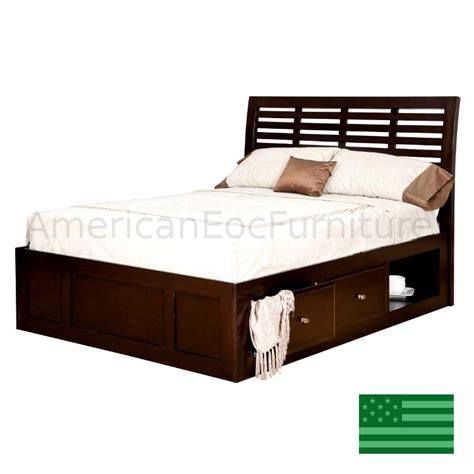 platform beds made in usa amish parkview platform bed solid wood made in usa