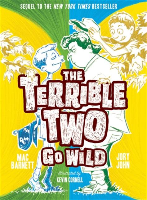 the terrible two go hardcover abrams