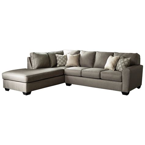 left chaise sectional sofa benchcraft calicho contemporary sectional with left chaise