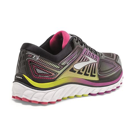glycerin 13 womens running shoes black hyacinth