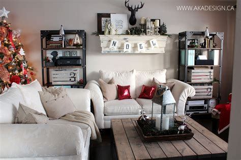 Industrial Rustic Living Room by A Cozy In The Suburbs Canadian