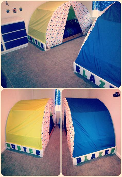 bed tents for boys tent beds we made for the boys for the home pinterest