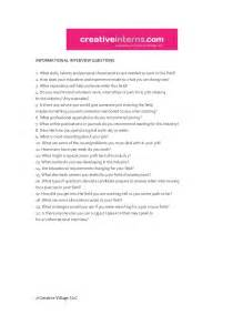 Informational Interview Report Sample Informational Interview Questions
