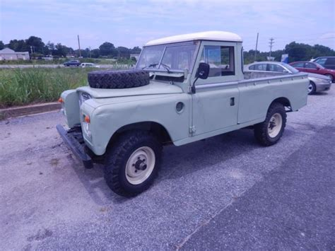 how to sell used cars 1986 land rover range rover electronic valve timing 1986 land rover 109 pick up truck defender from africa rhd original classic land rover
