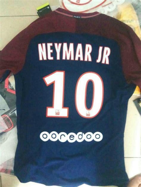 Grosirmurah Jersey Psg Home 2017 2018 Grade Ori jersey psg home 2017 2018 neymar jr jersey bola grade