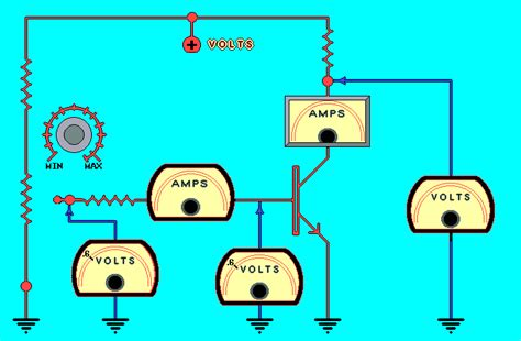 zener diode working animation active semiconductor simulations animations and java applets
