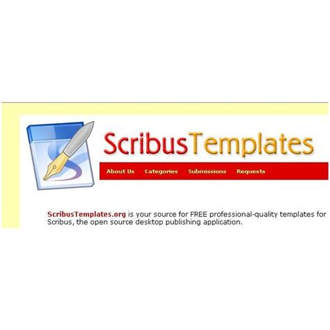 scribus templates use free scribus templates to save money and be more