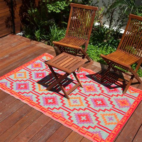 outdoor waterproof rugs 120x179 outdoor plastic rug lhasa orange violet waterproof