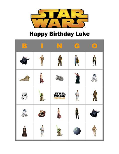 printable lego star wars bingo cards star wars personalized birthday party game bingo by