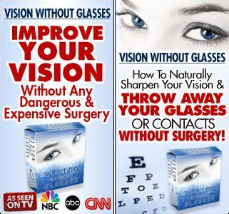 better vision better eye sight without glasses glass