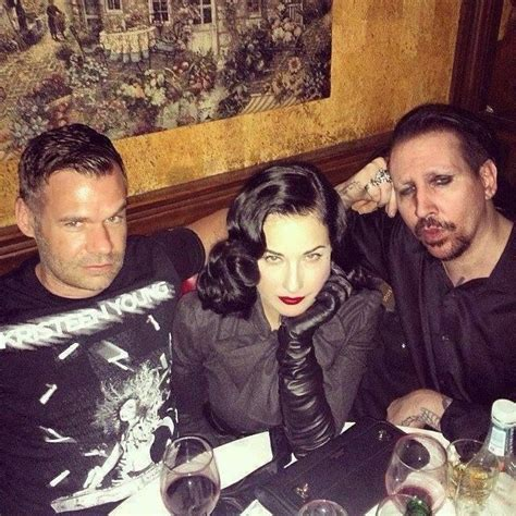 Dita Teese Is Not Friends With Ex Marilyn by 3 14 2014 With Dita Teese Ex At Johnny Depp S