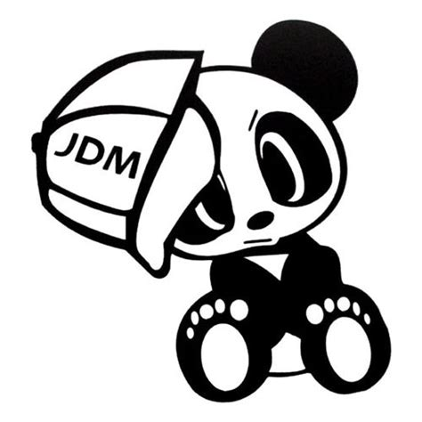 jdm panda sticker the s catalog of ideas