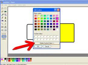 paint color tool how to use microsoft paint in windows 6 steps