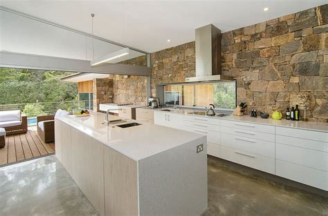 stone kitchens design 30 inventive kitchens with stone walls