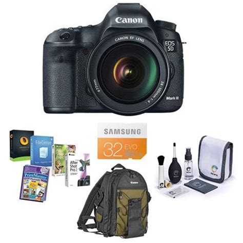 canon eos 5d mark iii dslr camera with canon ef 24 105 l