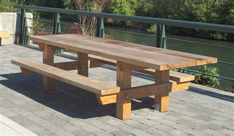 picnic bench plans my ideas free large round picnic table plans